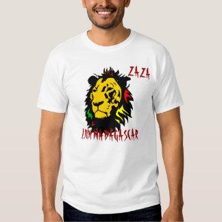 MADAGASCAR LION T SHIRTS
