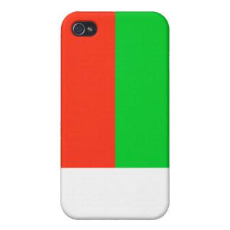Madagascar National Flag  iPhone 4 Cover