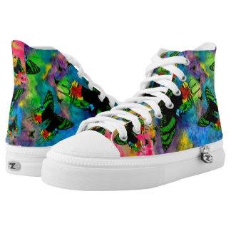 Madagascar Splash 2 Zipz High Top Shoes