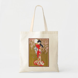 MADAM BUTTERFLY BUDGET TOTE BAG