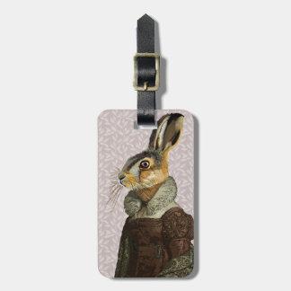 Madam Hare Luggage Tag