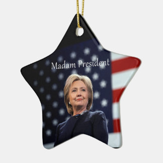 Madam President Style 1 Christmas Ornament