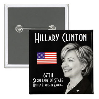 Madam Secretary (Square) 15 Cm Square Badge