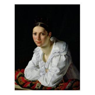Madama Claude Marie Dubufe  1818 Postcard