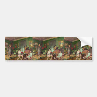Madame André &Children by Edouard Vuillard Bumper Sticker
