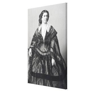Madame Anna Bishop Canvas Print