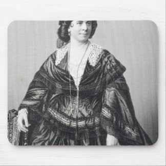 Madame Anna Bishop Mouse Mat