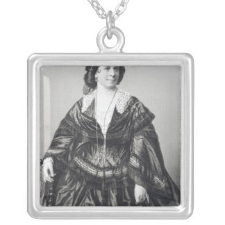 Madame Anna Bishop Silver Plated Necklace