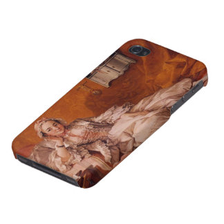Madame Boucher by Francois Boucher Cases For iPhone 4