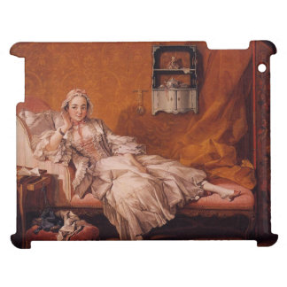 Madame Boucher by Francois Boucher iPad Cover
