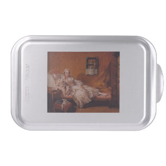 Madame Boucher by Francois Boucher Cake Pan