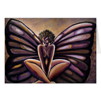 Madame Butterfly III Greeting Card