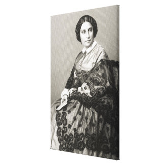 Madame Caroline Marie Felix Miolan-Carvalho Canvas Print