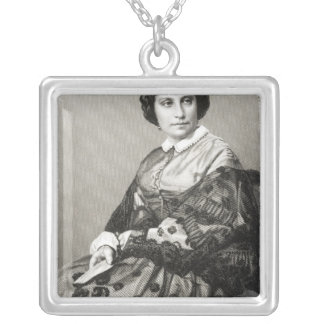 Madame Caroline Marie Felix Miolan-Carvalho Silver Plated Necklace
