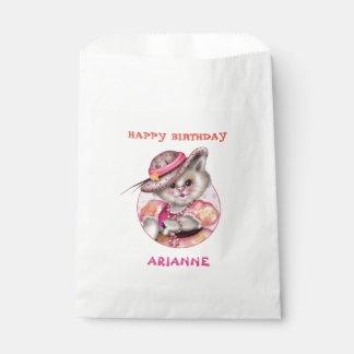 MADAME CAT 3 CARTOON  bag White Favor