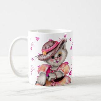 MADAME CAT CARTOON 11 oz Classic White Mug