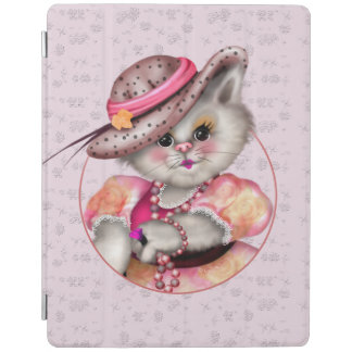MADAME CAT CUTE  iPad 2/3/4 Smart Cover iPad Cover