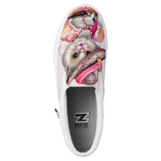 MADAME CAT Slip On Shoes Printed Shoes