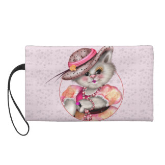 MADAME CAT Wristlet Bag