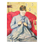 Madame Cezanne sewing Postcards
