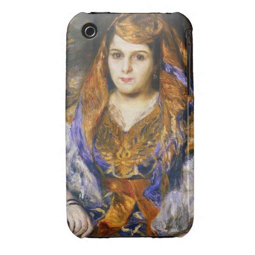 Madame Clemetine Valensi Stora  Pierre Auguste Case-Mate iPhone 3 Case