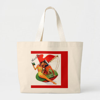 Madame Coquine's Lessons at Sea Canvas Bag