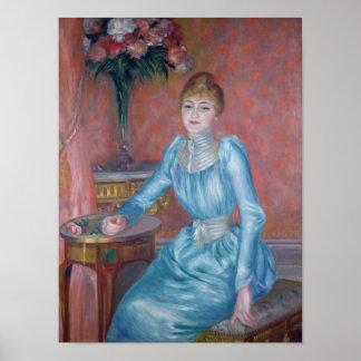 Madame de Bonnieres, 1889 Poster