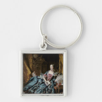 Madame de Pompadour, 1756 Keychain