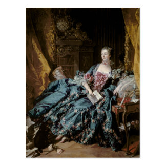 Madame de Pompadour, 1756 Postcard