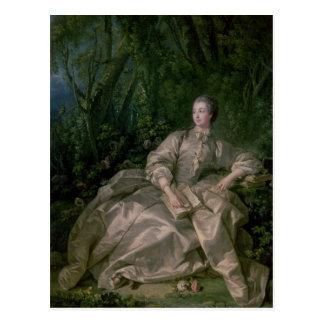 Madame de Pompadour, 1758 Postcard