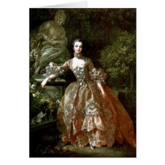 Madame De Pompadour By Francois Boucher Greeting Cards