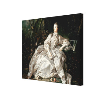 Madame de Pompadour Gallery Wrap Canvas