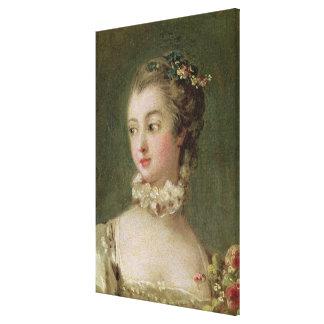 Madame de Pompadour Canvas Print