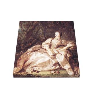 Madame de Pompadour ~ François Boucher Canvas Print