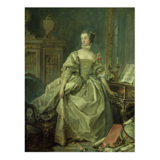 Madame de Pompadour Postcard