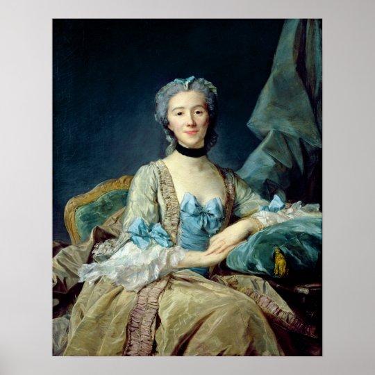 Madame de Sorquainville, 1749 Poster
