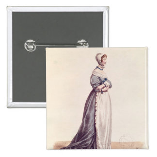 Madame Debrie in the role of Agnes 15 Cm Square Badge
