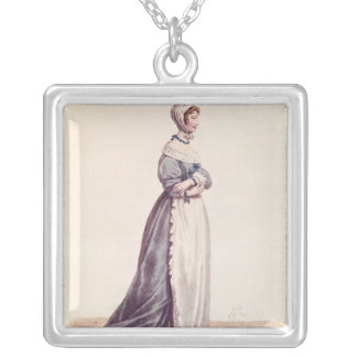 Madame Debrie in the role of Agnes Silver Plated Necklace