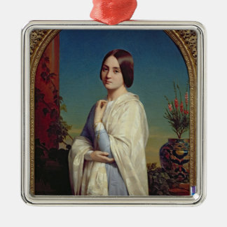 Madame Edouard Dubufe  1842 Christmas Ornament