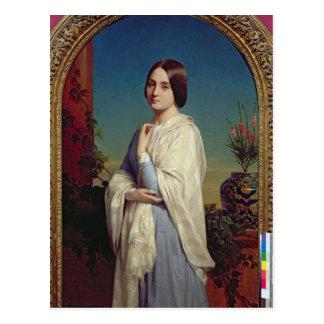 Madame Edouard Dubufe  1842 Postcard