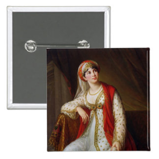 Madame Guiseppina Grassini  in the Role of 15 Cm Square Badge