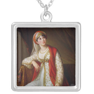 Madame Guiseppina Grassini  in the Role of Silver Plated Necklace