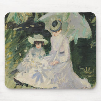 Madame Helleu and her Daughter Mouse Pad