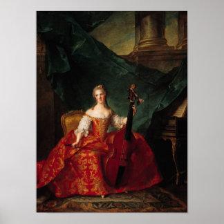 Madame Henriette de France  in Court Poster
