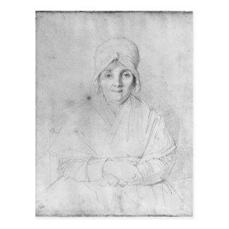 Madame Ingres Mere  1814 Postcard