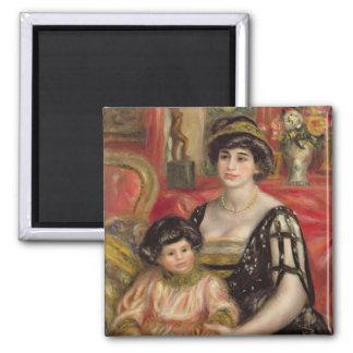 Madame Josse Bernheim-Jeune and her Son Henry Fridge Magnets