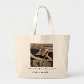 Madame Lisette Jumbo Tote Jumbo Tote Bag