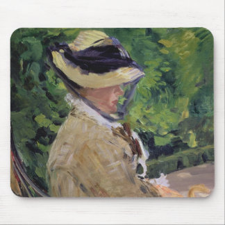 Madame Manet at Bellevue Mousepad