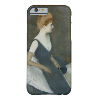 Madame Marthe Letellier Sitting on a Sofa Barely There iPhone 6 Case