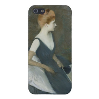 Madame Marthe Letellier Sitting on a Sofa iPhone 5/5S Case